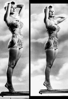 Marilyn. Photos by Phil Burchman, 1951.