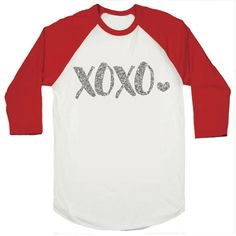 Toddler Girl Valentine's Outfit, XOXO Shirt, Baby Girl Valentine's Shirt, First Valentine's Day Shirts