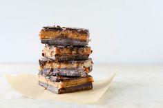 Dark Chocolate Peanut Butter Bars - Read More at Relish.com