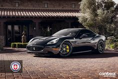 Ferrari California with HRE Wheels