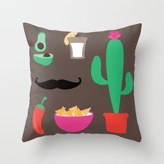 Fiesta throw pillow $20.00 http://society6.com/product/fiesta-2-p95_pillow#25=193&18=126