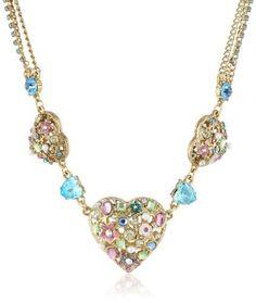 "Betsey Johnson ""Fairyland"" Multi-Charm Hearts Necklace, 21"", http://www.amazon.com/dp/B00DBKHEL4/ref=cm_sw_r_pi_awdm_jwcNsb0NZCNHH"