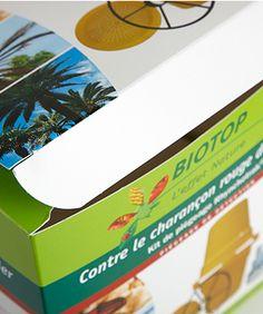 Graficas Ilba, packaging - Trabajos - Fondo automático - Biotop