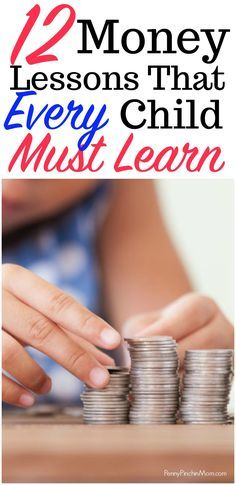 Parenting Advice - The Money Lessons Your Child MUST Learn  Financial Advice   Teaching kids about money   money lessons   how to create a budget   credit card debt   investing   kids   money   parenting