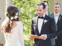 Writing your own vows for your wedding? Check out the best tips for how to write wedding vows you'll treasure forever. Wedding Guest Book, Wedding Events, Wedding Ceremony, Our Wedding, Destination Wedding, Wedding Destinations, Wedding Bells, Event Planning Tips, Wedding Planning