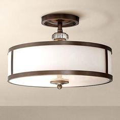 "Thorndale 15"" Wide Dark Noble Bronze Ceiling Light - #2W952 | LampsPlus.com"