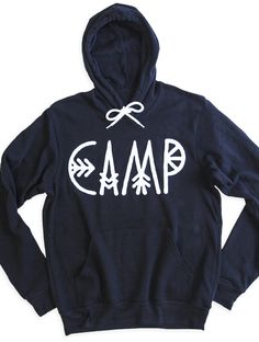 SUMMER CAMP HOODED PULLOVER , $79.99 by Camp Brand Goods