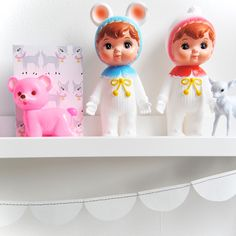 Snow Baby Woodland Dolls | Lapin and Me