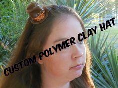 CUSTOM Polymer Clay Cosplay/Costume Hat  Polymer by EvenstarVS