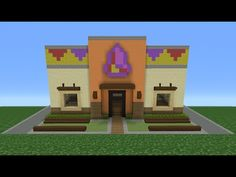 Minecraft Tutorial: How To Make A Taco Bell (Restaurant) - YouTube