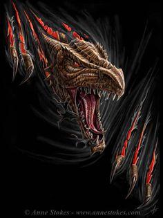 Anne Stokes   Dragonslayer-Network