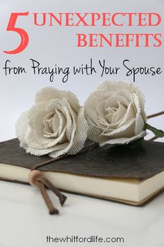 Need a boost to your marriage? I highly encourage couple prayer! Here are the 5 unexpected benefits from praying with your spouse. Couples Prayer, Keep The Faith, Christian Marriage, Have A Blessed Day, Mother Mary, Catholic, Benefit, Prayers, Parenting Tips
