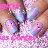 Decoración de uñas buhos1-3