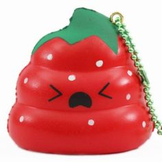 scented red Crazy Poo strawberry squishy by Puni Maru - Cute Squishy Shop Nerf Bow And Arrow, Toys For Girls, Kids Toys, Ibloom Squishies, Balle Anti Stress, Poo, Cute Squishies, Slime And Squishy, Slime Shops