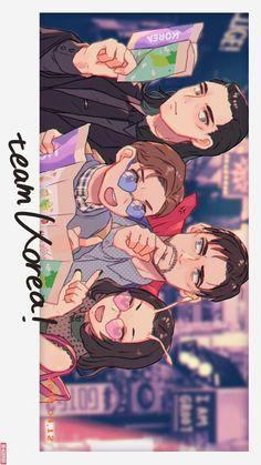 Team Korea!! || Loki, Peter, Dr. Srange & Mantis || Avengers Infinity War || Cr: 郡内やすおみ