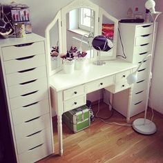 something like this for my get ready station
