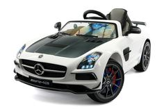 Mercedes SLS AMG Final Edition Kids Ride-On Car, Color LCD Entertainment System with Parental Remote, 2 way self-ventilated PU Leather seats Daimler Ag, Daimler Benz, Dirt Bikes For Kids, Mercedes Sls, Mclaren Mercedes, Classic Mercedes, Rc Cars And Trucks, Pocket Bike, Power Wheels