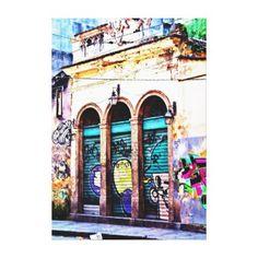 Brazilian Art - Teresa Saint in Rio Canvas Print  $116.00  by GetUpCool  - cyo diy customize personalize unique