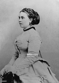 Princess Victoria of Prussia (1840 - 1901), the future Empress of Germany, circa 1865. She is the eldest child of Queen Victoria, and consort of Prince Frederick William of Prussia (the future German Emperor Frederick III).