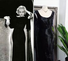Old Hollywood Dress, Old Hollywood Glamour, Flapper Wedding Dresses, Boho Wedding Dress, Vintage Ball Gowns, Vintage Dresses, Black Prom Dresses, Ball Dresses, Bias Cut Dress