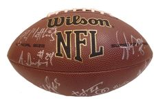 2012 SF 49ers team signed NFL Wilson full size football w/ proof photo.  Proof photo of the 49ers signing will be included with your purchase along with a COA issued from Southwestconnection-Memorabilia, guaranteeing the item to pass authentication services from PSA/DNA or JSA. Free USPS shipping. www.AutographedwithProof.com is your one stop for autographed collectibles from San Francisco sports teams. Check back with us often, as we are always obtaining new items.