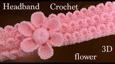 Crochet Mittens - Diadema a Crochet en punto tunecino de onditas en con flores tejido tallermanualperu Crochet Amigurumi Free Patterns, Crochet Socks, Crochet Patterns For Beginners, Crochet Gifts, Crochet For Kids, Easy Crochet, Crochet Baby, Free Crochet, Crochet Winter