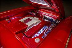 1958 CHEVROLET CORVETTE CUSTOM CONVERTIBLE 'EYE CANDY' - 1958 Corvette, Chevrolet Corvette, Jaguar V12, Auction Bid, Las Vegas Blvd, Barrett Jackson Auction, Collector Cars, Convertible, Engine