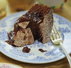 Alex Hollywood: Maison de la Roche Chocolate Pudding Cake | Daily Mail Online