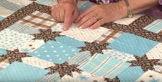 How to Make Star Sashing - Quilting Digest