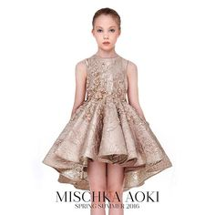 MISCHKA AOKI SS 2016 The Most Wondrous Fair dress from Mischka Aoki SS16 Collection Check this out on INK361.com