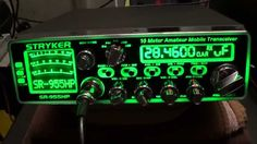 LOOK HOW THE STRYKER 10 METER RADIO SR-955 WORK ON THE AIR having 7 multi color lights with the brilliant 7 color led back lit face plate  and having the best performance in the amateur radio market for more details visit us at strykerradio.com