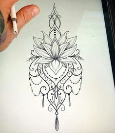 34 Ideas Tattoo Mandala Lotus Shoulder Tatoo For 2019 Lotusblume Tattoo, Hamsa Tattoo, Henna Tattoos, Forearm Tattoos, Tattoo Drawings, Body Art Tattoos, New Tattoos, Tattoo Thigh, Hindi Tattoo