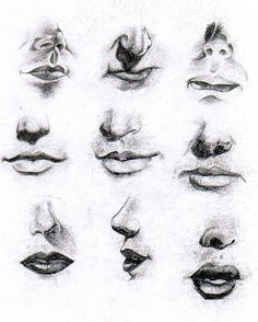 Mouth study by lug0si on deviantART