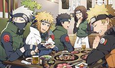 Team Minato alive, Naruto