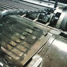 """""""Επίπεδο κοπτικό #letterpress #sinnercats #heidelberg  #die-cut"""""""