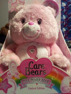 My new Pink Power Care Bear!!!