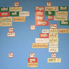 INSTRUCTION: In this lesson, the teacher introduces 5-7 new words a week to the word wall. The teacher goes over tips to spell correctly, such as looking for the smaller words within the word or counting the number of letters. This instructional approach is useful because students learn how to spell new words together and go over the tips every week as opposed to having the teacher put the word on the wall without a comprehensive class discussion (BLD, 2018). Reading Process, Writing Process, Small Words, New Words, Vocabulary Word Walls, Balanced Literacy, High Frequency Words, Student Learning, How To Memorize Things