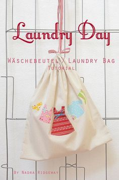 Wäschebeutel / Laundry Bag Tutorial || Ellis and Higgs