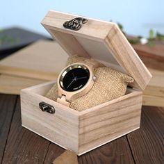 Ladies Wood Timepiece. Japanese Quartz!