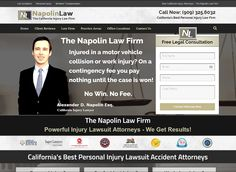 The Napolin Law Firm Powerful Injury Lawsuit Attorneys - We Fight To Win! NapolinLaw.com - Napolin Law Firm