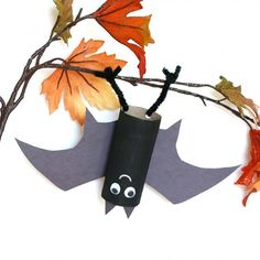These little bats can be hung all over the house to add a festive feel for Halloween!