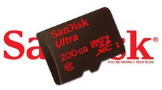 #SanDisk #MicroSD Card With Humongous Memory Space : 200GB SD Card