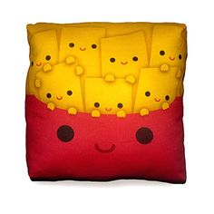 fries pillow. #kawaii