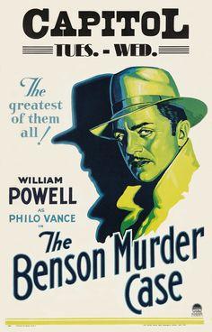 "William Powell is Philo Vance in ""The Benson Murder Case"",1930"