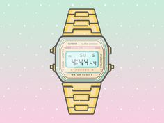 Classic Casio Watches on Behance