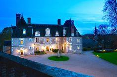 Castillos del Loira castillo de Noizay