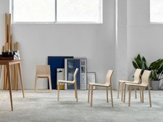 sillas Contour chairs