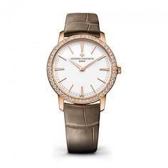 Buy VACHERON CONSTANTIN Ladies 18ct Rose Gold Manual Wind Diamond Bezel Traditionnelle  Owen & Robinson, Leeds Official Retailer. FREE next day delivery. Interest Free Finance Available.   http://www.oandr.co.uk/watches-c1/ladies-watches-c53/vacheron-constantin-ladies-18k-rose-gold-traditionelle-hand-wound-diamond-bezel-silver-dial-strap-watch-p519  #rosegold #VacheronConstantin #ladieswatch #rosegold #diamonds #rosegoldwatch