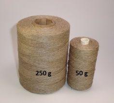 lněná nit režná - tzn. přírodní, nebarvená     třípramenná, síla cca 0,7 mm      lněná nit režná - tzn. přírodní, nebarvená     třípramenná, síla cca 0,7 mm  #ozn.cca metrůcca průměrCena/ks 1105x3 - cív. 50 g158 m0,7 mm54 Kč 2105x3 - cív. 250 g750 m0,7 mm170 Kč  #ozn.cca metrůcca průměrCena/ks 1105x3 - cív. 50 g15...