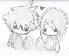 Resultado de imagen para imagenes kawaiis anime facil de dibujar